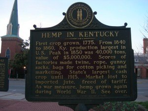 Hemp in Kentucky