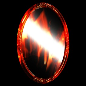 oval-mirror-png-flame